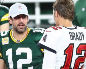 Conference Championship Weekend - Aaron Rodgers and Tom Brady face off in the NFC Championship Game.