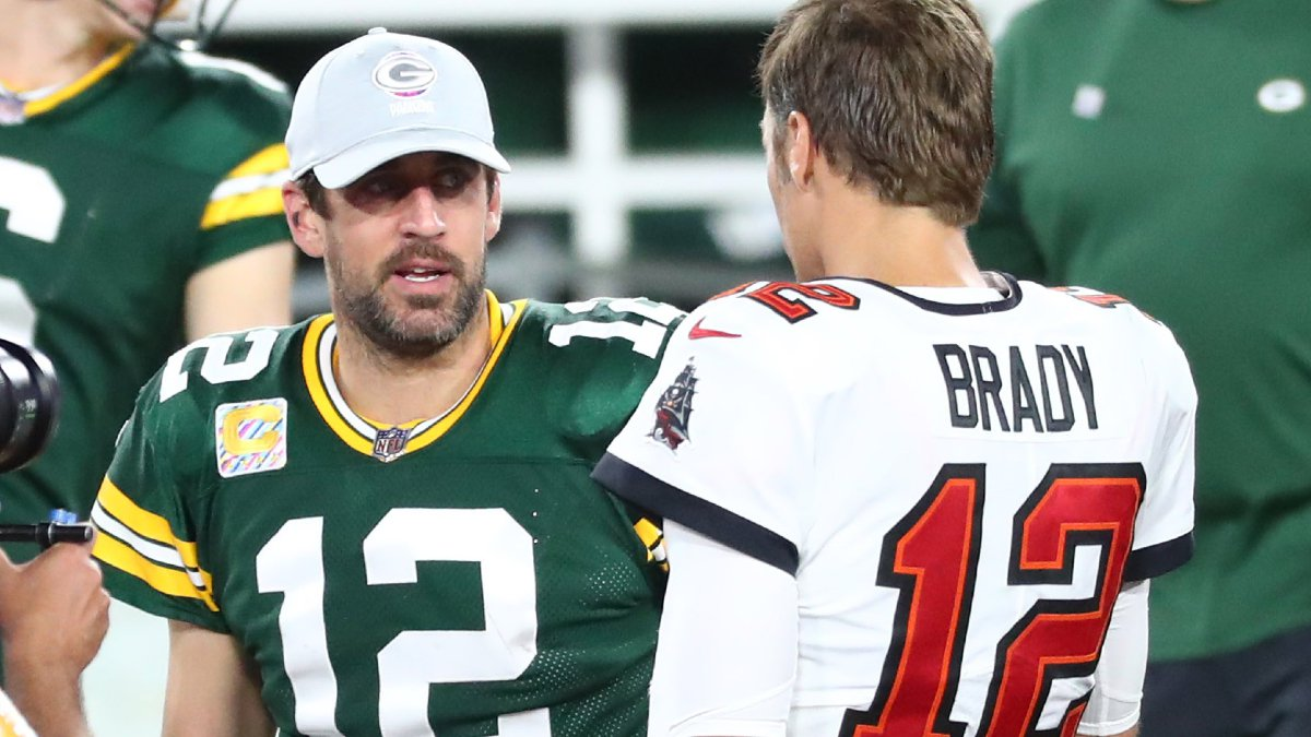 Conference Championship Weekend – Aaron Rodgers and Tom Brady face off in the NFC Championship Game.