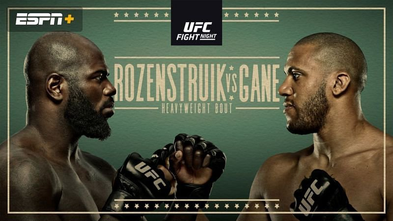 Heavyweight Contenders Clash in this Saturday's UFC Vegas 20 Main Event