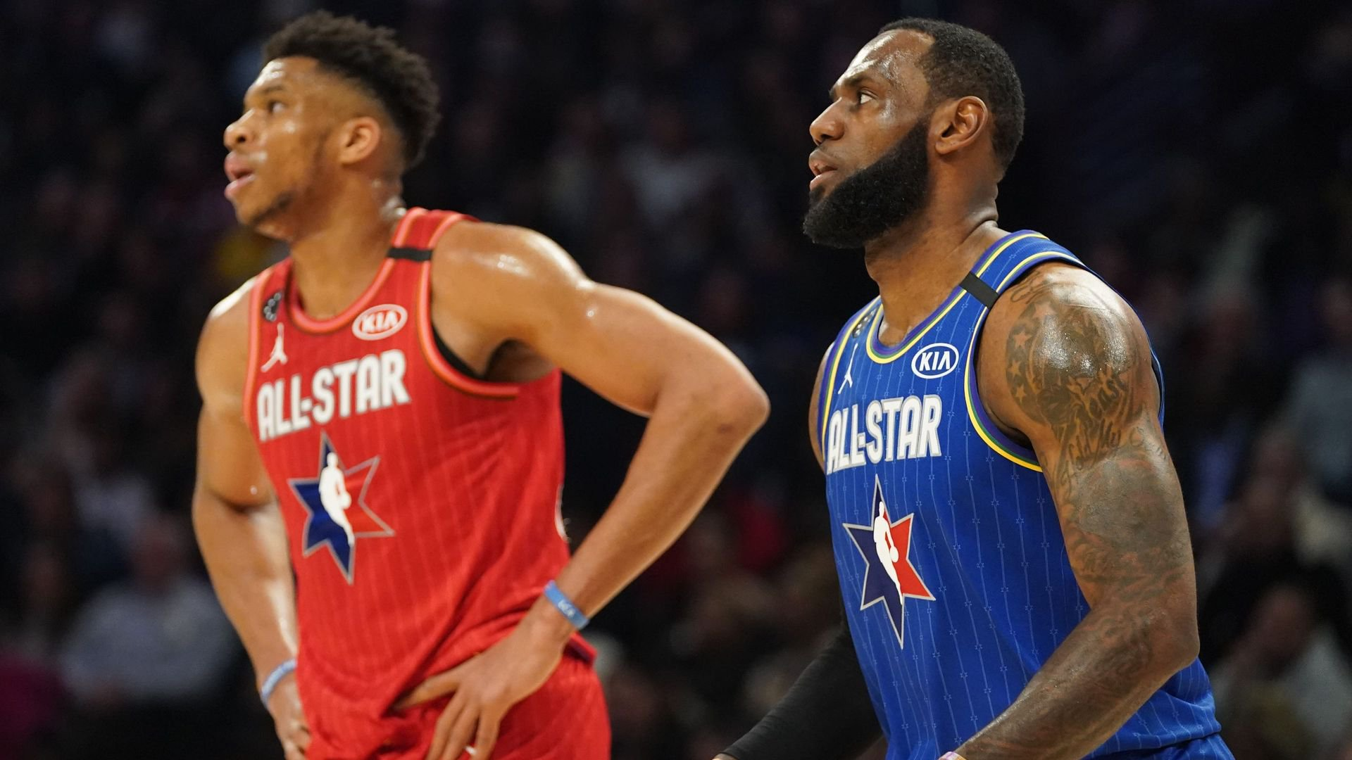 Team LeBron Holds Edge Over Team Durant in NBA All-Star Game