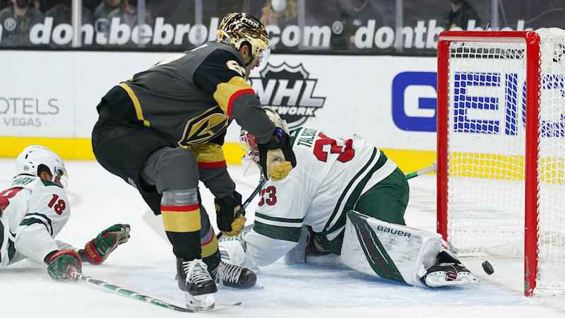 Golden Knights, Wild Will Light the Lamp Often in Rematch