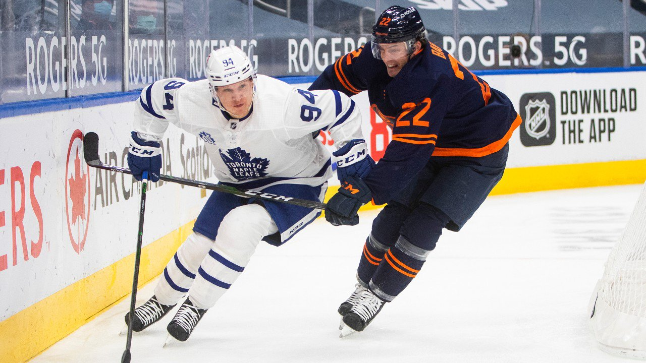 Leafs the Lean in Second Showdown with Oilers