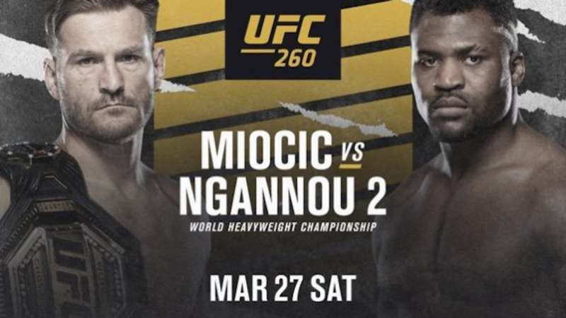 UFC 260 Betting Preview & Best Bets: Heavyweight Rematch set for Main Event