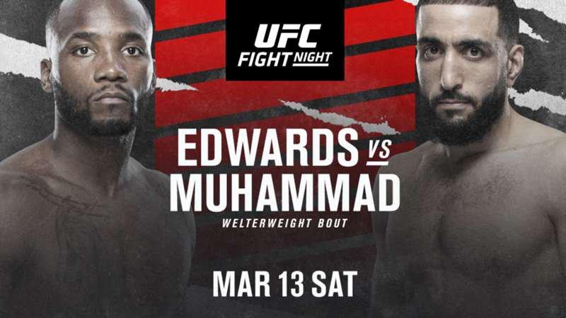 UFC Vegas 21 Betting Preview: Leon Edwards Big Favorite in Octagon Return