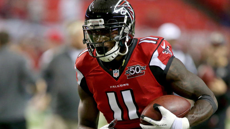 Great catch: Julio Jones makes an early impact with the Titans' NFL futures