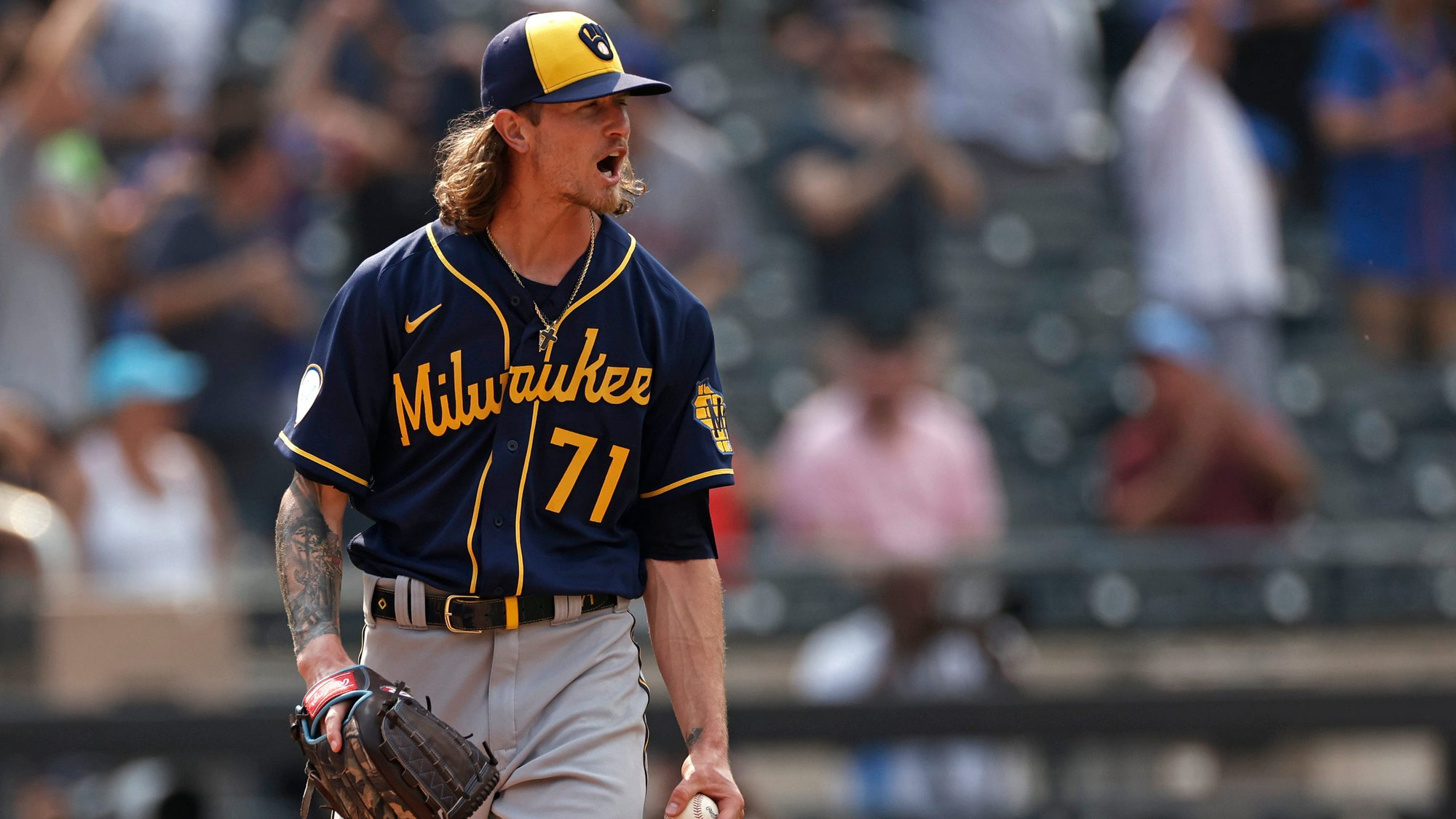With pen still deep, no caution needed when backing Hader-less Brewers