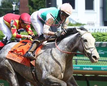 Obligatory, winner of the Eight Belles, will try her luck at Keeneland on Saturday in the Raven Run